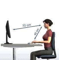 зрение и расстояние до монитора