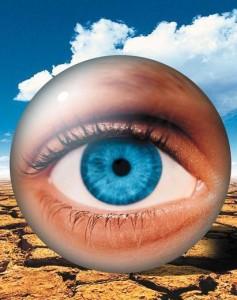 Синдром сухого глаза, фото