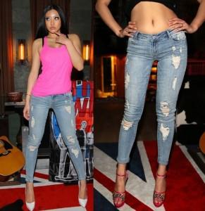 Как носить джинсы с низкой посадкой